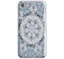 Baroque Blue Rosette- N67 iPhone Case/Skin