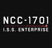ST Registry Series - Mirror Enterprise Small White Logo by Christopher Bunye