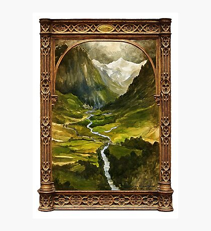 The Ring is taken to Rivendell Photographic Print
