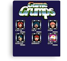 Game Grumps Megaman Canvas Print