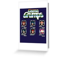 Game Grumps Megaman Greeting Card