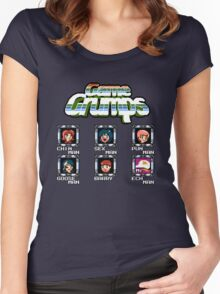 Game Grumps Megaman Women's Fitted Scoop T-Shirt