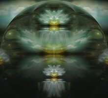 From Across The Void They Came by Craig Hitchens - Spiritual Digital Art