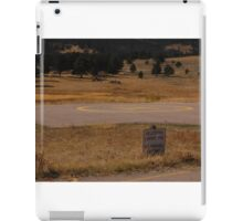 helicopter parking iPad Case/Skin