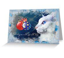 Delain says Happy Holidays - greeting card #2 Greeting Card
