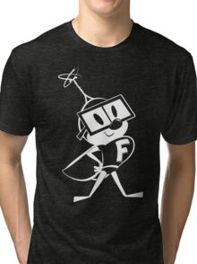 Fearless Fly – white version Tri-blend T-Shirt