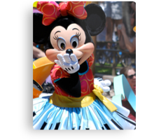 Soundsational Minnie Mouse Metal Print