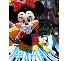 Soundsational Minnie Mouse Photographic Print