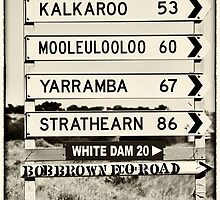 60 km to Mooleulooloo!! by Wendi Donaldson Laird