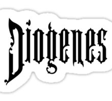 The Diogenes Club Sticker
