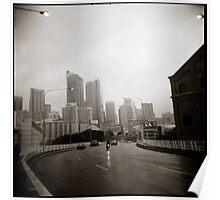 { gloomy city } Poster