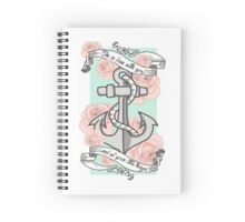 Little Things Anchor Spiral Notebook