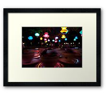 Disneyland Teacups Framed Print