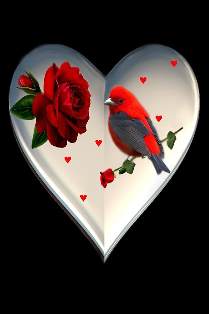 "*•.¸♥♥¸.•*CARDINAL HEART OF LOVE ""DID I TELL U THAT I LOVE U""??*•.¸♥♥¸.•* by ✿✿ Bonita ✿✿ ђєℓℓσ"