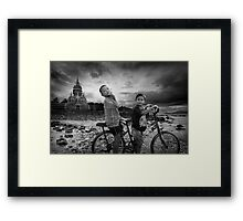 Big Trouble in Little Thailand Framed Print