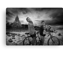 Big Trouble in Little Thailand Canvas Print