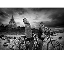 Big Trouble in Little Thailand Photographic Print