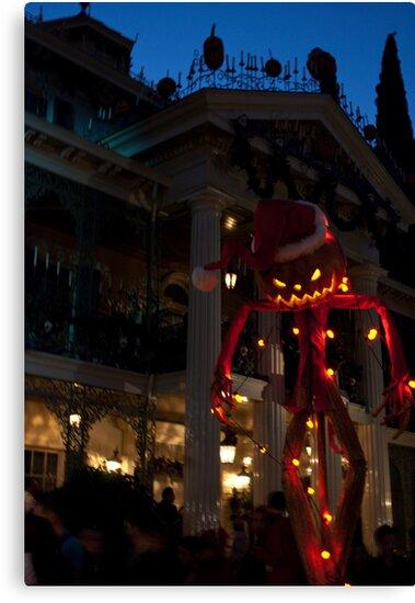 Haunted Mansion, Disneyland by Jsprentallphoto