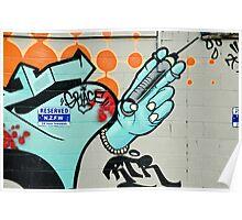 Graffiti Injection Poster
