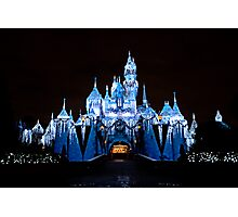 Disneyland Castle Photographic Print