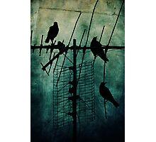 Silent Threats Photographic Print