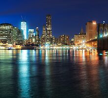 NYC Skyline Panorama by Flux Photography