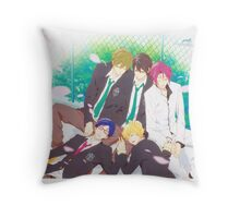Free! Cute sleeping Throw Pillow