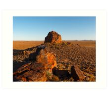 Dome Rock, Boolcoomatta Reserve, South Australia Art Print