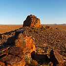 Dome Rock, Boolcoomatta Reserve, South Australia by Blue Gum Pictures