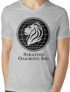Stratton Oakmont Inc Mens V-Neck T-Shirt