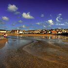 Perranporth Beach by Rob Hawkins