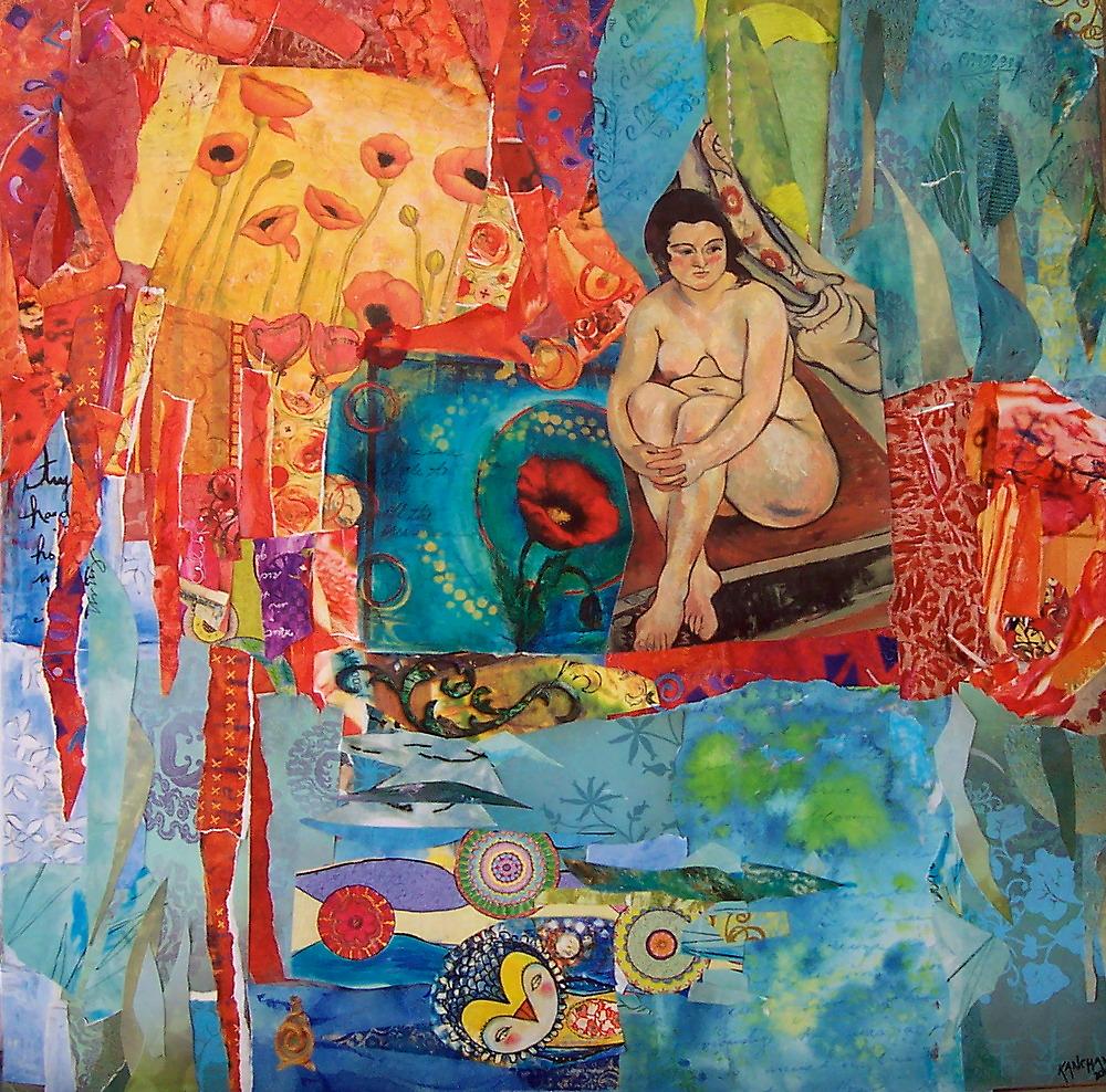 The Portrait by Kanchan Mahon