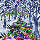"""Christmas Tree Path"" by Steve Farr"