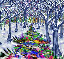 """Christmas Tree Path"" by Steve Farr"