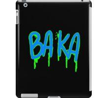 Baka Series- Black and Green iPad Case/Skin