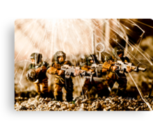 Modern Battle Field Canvas Print