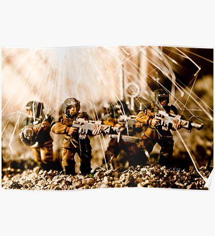 Modern Battle Field Poster