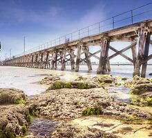 Moonta Bay Jetty by Shannon Rogers