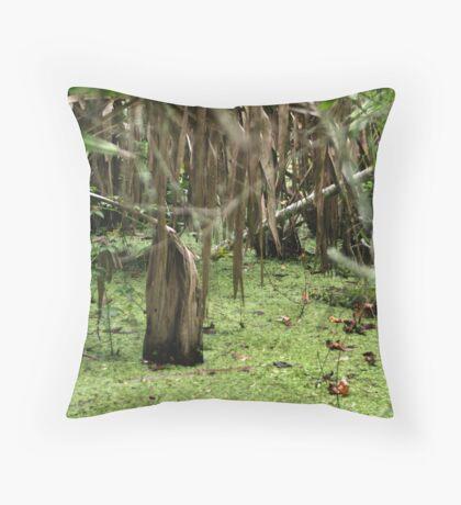 Cypress Stump Throw Pillow