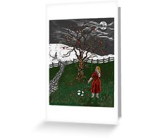 Scene from a Dream Greeting Card