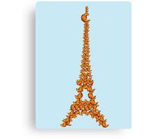 La Tour Des Croissants Canvas Print