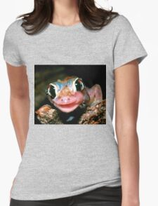 Spade-footed Gecko Womens Fitted T-Shirt