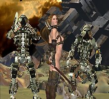 Future Times .. the space wars by LoneAngel