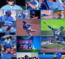 American League Division Series Champs 2015  The Toronto Blue Jays by ninasilver