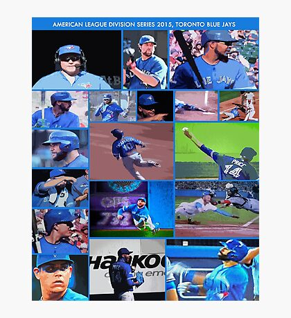 American League Division Series Champs 2015  The Toronto Blue Jays Photographic Print