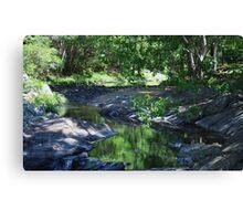 valley pools ... Canvas Print