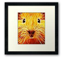 Fiery Mouse Framed Print