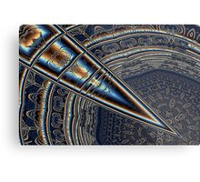 Glass Dagger Metal Print
