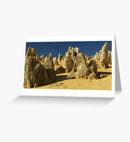 Nature's sculptures Greeting Card