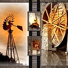 americana diptych by bangonthedrums